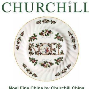 NOEL FINE CHINA BY CHURCHILL CHINA